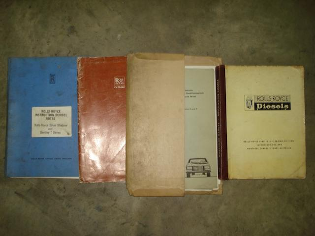 Two Rolls-Royce Handbooks.
