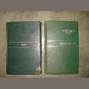 Two Bentley Handbooks.