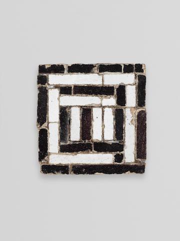 A Timurid Mosaic Tile