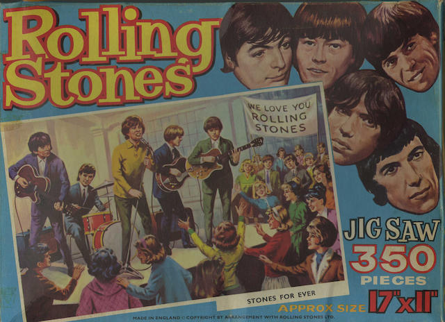 A collection of Rolling Stones/Beatles memorabilia, 1960s,