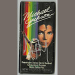 An autographed 'Michael Jackson' chocolate bar, 1989,