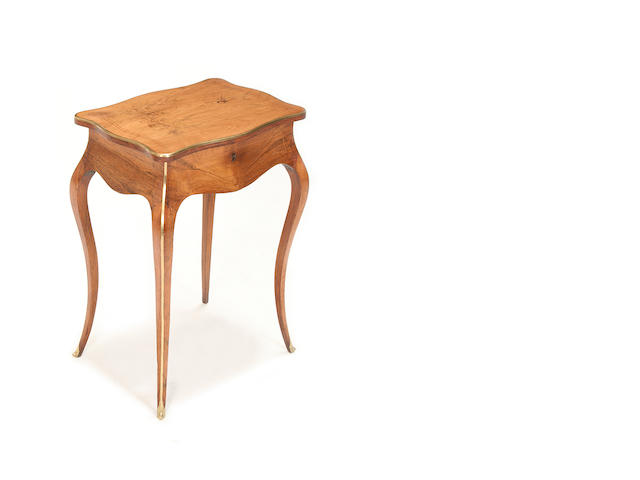A kingwood and marquetry dressing table