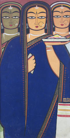 (n/a) Jamini Roy (India, 1887-1972) Untitled