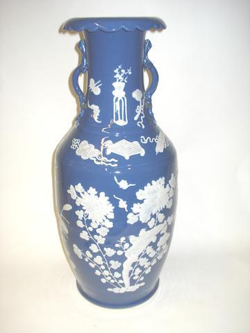 A baluster floor vase 19th century