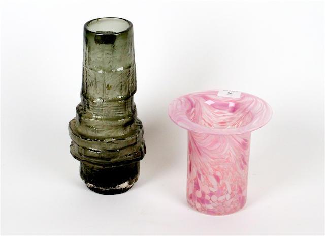 A Geoffrey Baxter trunkform vase