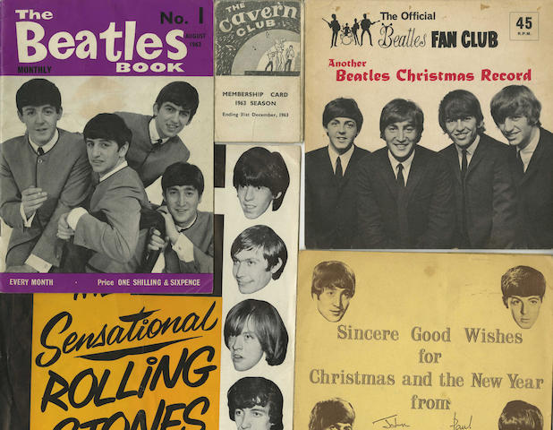 A collection of Beatles memorabilia and other items, 1960s,