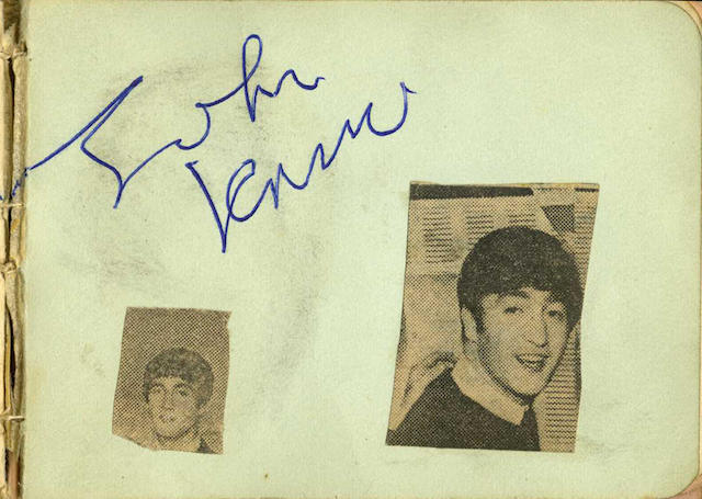 A collection of memorabilia relating to the Beatles and others, 1960s,