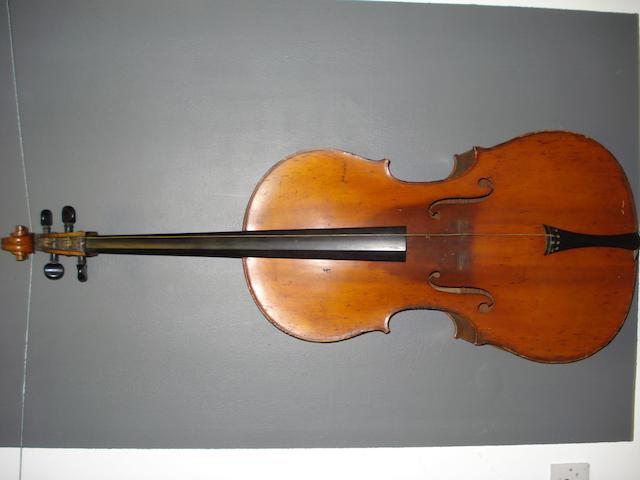 A Mirecourt Cello of the Grandjon School, circa 1890 (1)