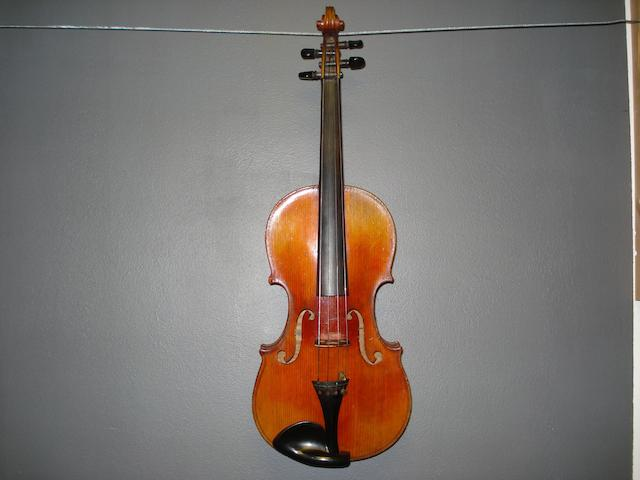 A French Violin  by JTL, Mirecourt. circa 1900 (3)