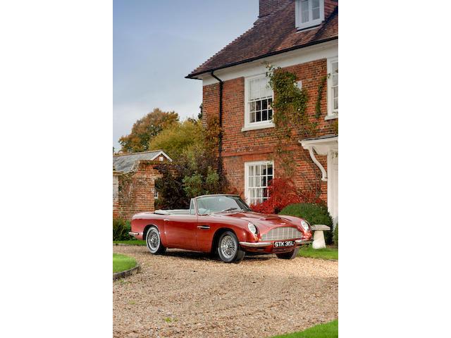 1967 Aston Martin DB6 MkI Volante Convertible   Chassis no. DBVC/3661/R Engine no. 400/3123