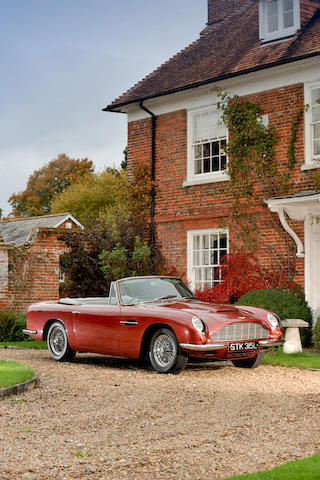 1967 Aston Martin DB6 MkI Volante Convertible  Chassis no. DBVC/3661/R Engine no. 400/3123