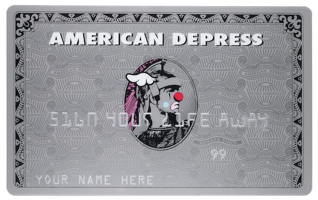 D*Face (British) 'American Depress', 2008