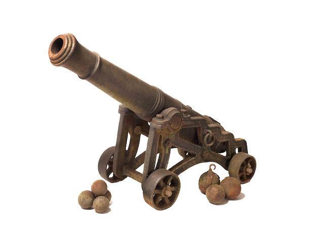 An Iron Barrelled Cannon