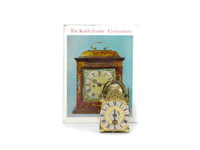 A good late 17th century miniature striking lantern clock with alarm Joseph Knibb, London