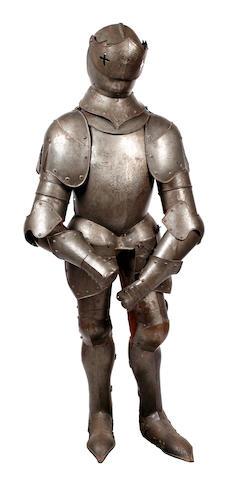 A Decorative Suit Of Armour