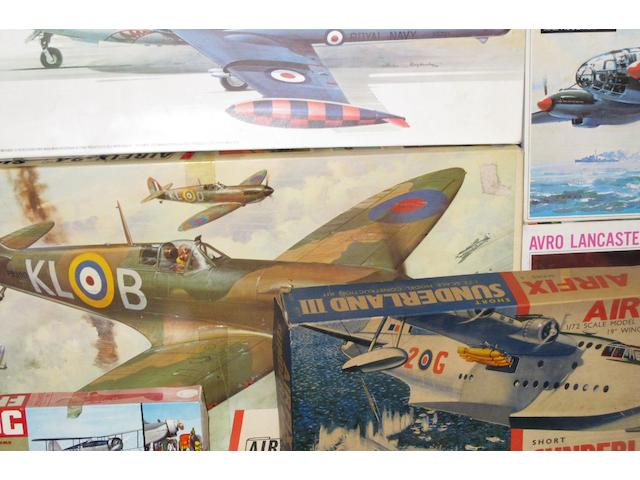 Airfix, Frog, Heller, Lindberg, Kiel Kraft and others a collection of approximately 200 unmade plastic kits