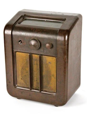 An EKCO AC77 wireless receiver, circa 1938,