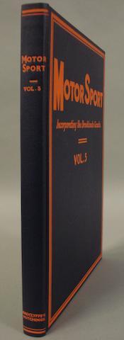 Motor Sport, 1928-29,