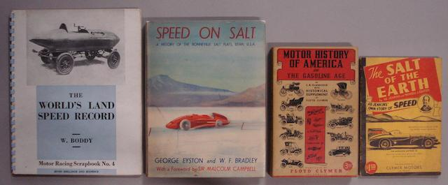 A lot of motoring literature,