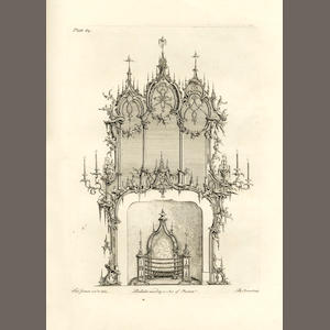JOHNSON (THOMAS) [Designs for Picture Frames, Candelabra, Ceilings, Chimney-pieces, Brackets, Clockcases, Gerondoels, Metal-work]