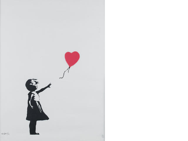 Banksy (British, born 1975) 'Balloon Girl', screenprint