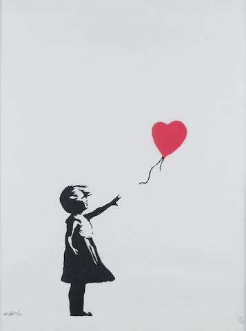 Banksy (British, born 1975) 'Balloon Girl', screenprint