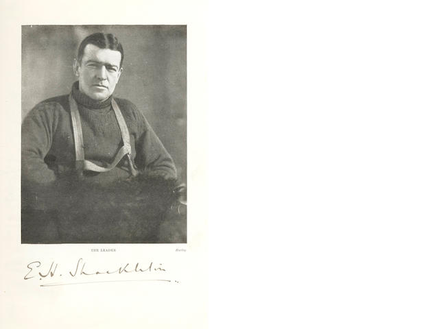 SHACKLETON (ERNEST) South. The Story of Shackleton's Last Expedition 1914-1917
