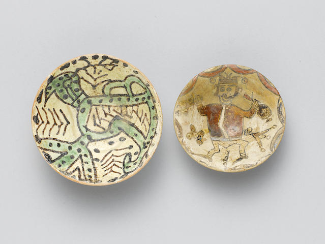 Two small Abbasid Bowls East Persia or Transoxiana, 9th-10th Century(2)