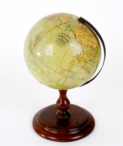 A W. & A.K. Walker Student Globe on stand,