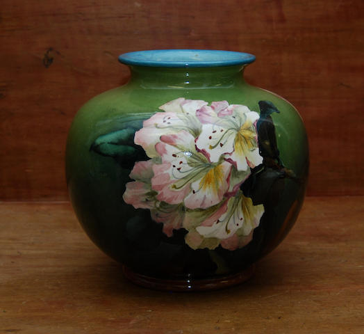 A Doulton Lambeth faience vase by Katherine Smallfield
