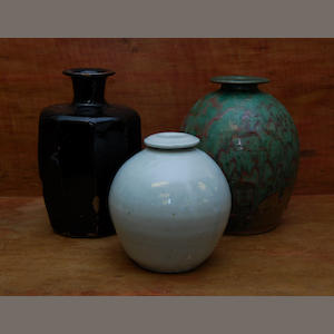 Three St.Ives vases by Trevor Corser