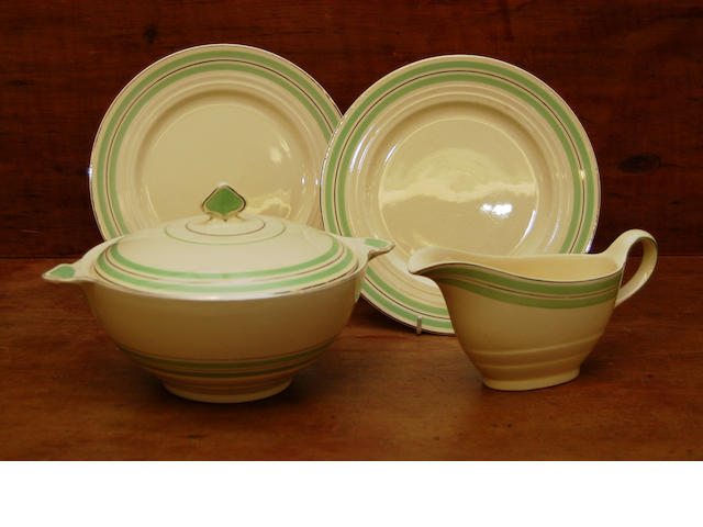 "A Newhall ""Nirvana"" pattern dinner service"