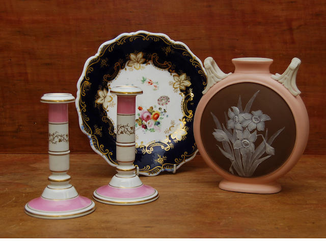 A collection of Royal Worcester items