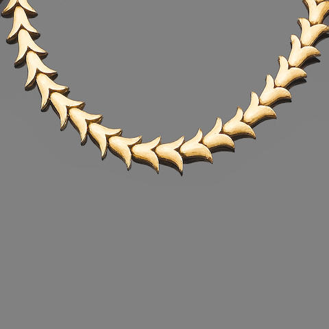 A necklace, by Ilias Lalaounis