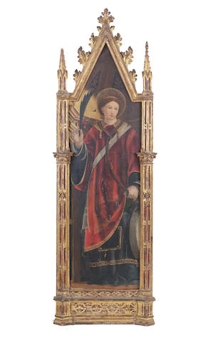 School of the Marches, PAir of Martyr Saints, 16th Century