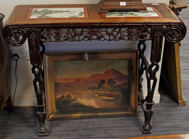A Chinese altar table,