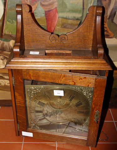 An 18th Century longcase clock movement Ashton, Ashburn