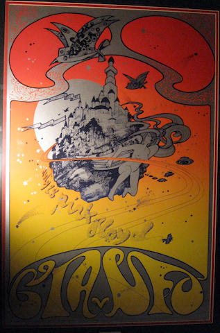 Two Hapshash & The Coloured Coat posters for Pink Floyd and The Who,