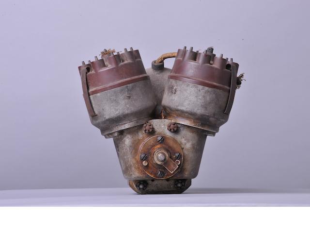 A Bosch GE8ARS9 magneto,
