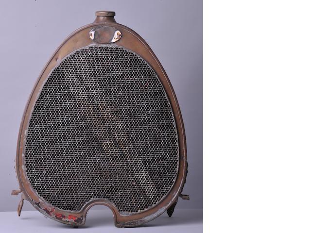 A Bugatti radiator,