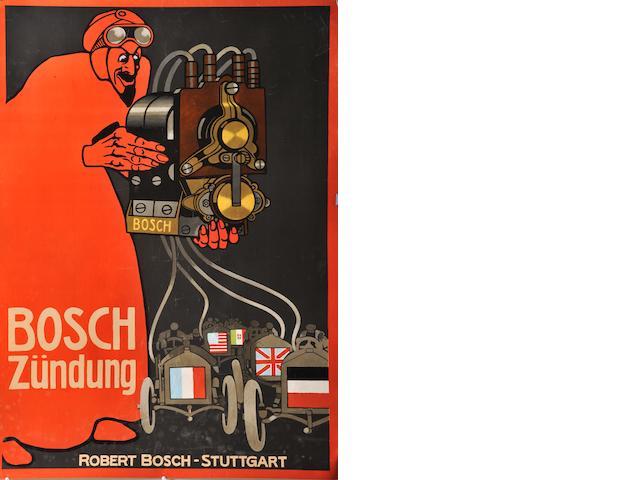 A Bosch Magneto poster,