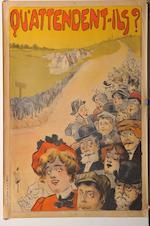 Affiches en triptyque pour la publicité de Clément- Panhard d'après Misti,