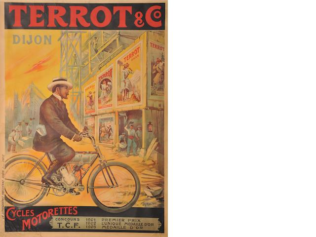 A Terrot & Co poster after Tamagno,