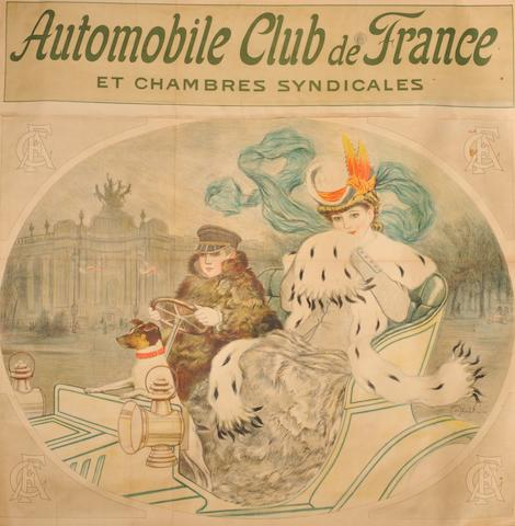 An 'ACF Et Chambres Syndicales' poster after Abelnaivre,