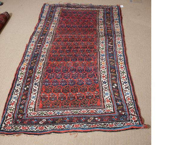 A Hamidan rug 244cm x 139cm, 160cm x 110cm, 190cm x 111cm, 269cm x 191cm