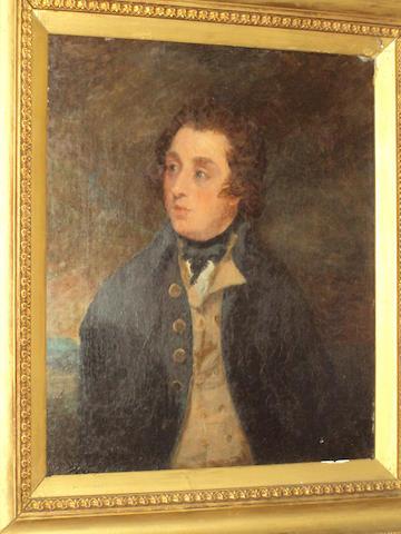 British School circa 1800 Portrait of a British Naval officer