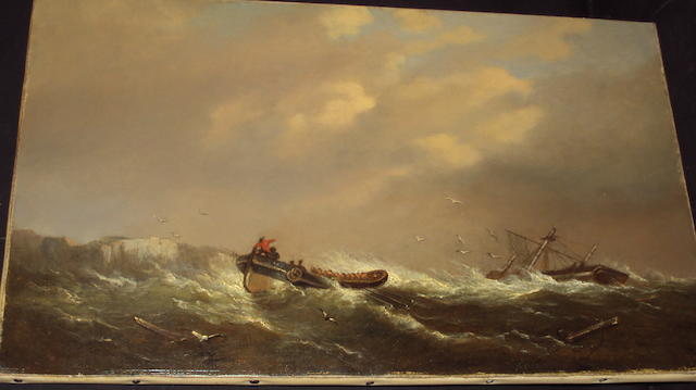 George Webster (British, 1797-1864) The Lifeboat