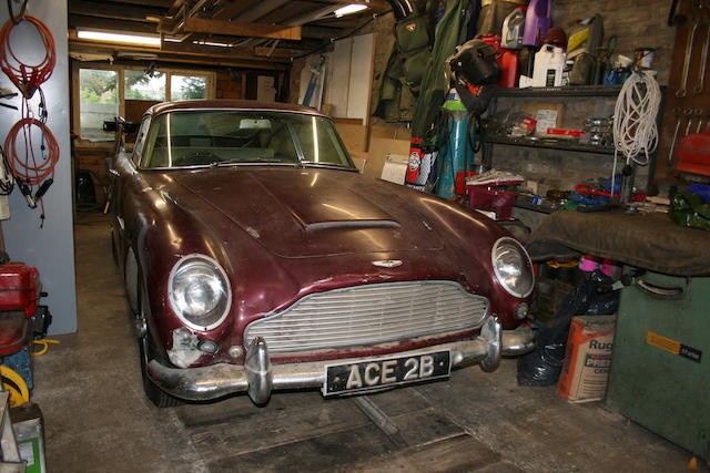 1964 Aston Martin DB5 Saloon  Chassis no. GB 51482/R Engine no. 400/1461