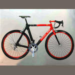 A limited edition CF1 gentleman's professional Ferrari racing bike by Colnago