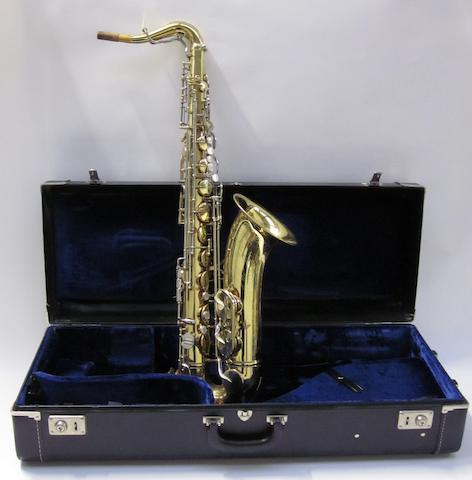 John Entwistle's King 'Super 20' saxophone
